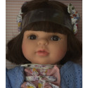 Berjuan Soft Doll Laura 2018 brunette, 40cm