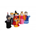Noe Hand Puppets The Royal Court, 6 pieces