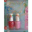 SuncoatGirl Natural Nail Salon Kit Little Valentine, 2x8ml