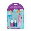 SuncoatGirl Natural Nail Salon Kit Little Mermaid, 2x8ml