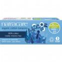 Natracare Organic Cotton Tampons without Applicator Regular, 20 Pieces