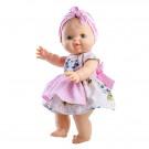 Paola Reina Gordis Doll Girl Elvi, 34cm