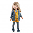Paola Reina Las Amigas Doll Carla 2020, 32cm yellow/gray