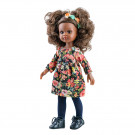 Paola Reina Las Amigas Doll Nora 2020, 32cm with flowers