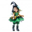 Paola Reina Las Amigas Dress Green Witch, 32cm