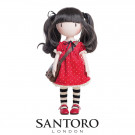 Santoro London Gorjuss Doll Ruby, 32cm
