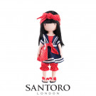 Santoro London Gorjuss Doll Little Fishes, 32cm