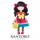 Santoro London Gorjuss Doll Every Summer Has A Story, 32cm