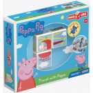 GEOMAG Magicube Magnetic cubes Peppa Pig Travel with Peppa, 3 cubes