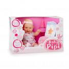 Berjuan Baby Pipí Baby Girl Doll, 30cm