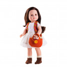 Paola Reina Soy tu Doll Emily, 42cm white dress
