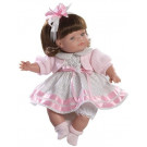 Berjuan Soft Doll Claudia brunette, 38cm