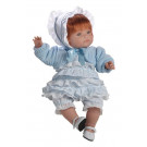 Berjuan Soft Doll Claudia red hair, 38cm