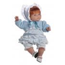 Berjuan Soft Doll Claudia red hair, 38cm