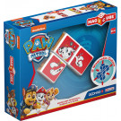 GEOMAG Magicube Magnetic cubes Paw Patrol Marshall Rubble Zuma, 3 cubes