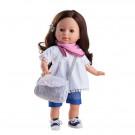 Paola Reina Las Blanditas Virgi Doll, 36cm