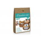MFP Creative Set Owls 3 pieces brown