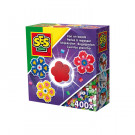 SES Creative Iron On Beads Flower Mini Set
