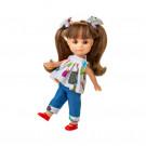 Berjuan Luci vestido vaquera Doll, 22cm
