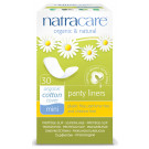 Natracare Organic Cotton Panty Liners Mini, 30 Pads
