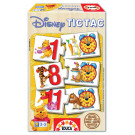 EDUCA Wooden Puzzle Tic Tac Winnie The Pooh