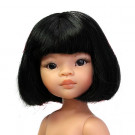 Paola Reina Las Amigas Doll Liu short hair, 32cm Naked