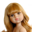 Paola Reina Las Amigas Doll Dasha with Fringe, 32cm Naked