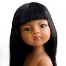 Paola Reina Las Amigas Doll Kaili long hair, 32cm Naked
