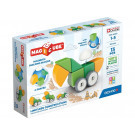GEOMAG Magicube Magnetic cubes Shapes Wheels, 13 cubes