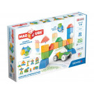 GEOMAG Magicube Magnetic cubes Shapes World, 32 cubes