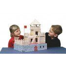 Walachia Wooden Construction Set VARIO Fort, 194 pieces
