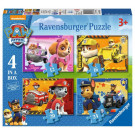 Ravensburger Puzzle Paw Patrol 4in1