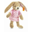 Steiff Rabbit Hoppel organic cotton, 20cm pink
