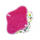 Anavy Menstrual Day Pads PUL cotton velour candy / flamingos
