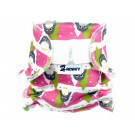 Anavy Cloth Doll Diaper Winter Penguins pink
