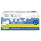 Natracare Organic Cotton Tampons with Applicator Regular, 16 Pieces