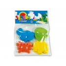 Androni Giocattoli Sand Moulds Animals, 4 pieces