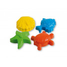 Androni Giocattoli Sand Moulds Sea Creatures, 4 pieces