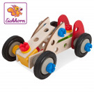 Eichhorn Wooden Set Constructor Racer, 50 pieces