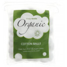 Simply Gentle Organic Cotton Wool Balls, 100 Pieces
