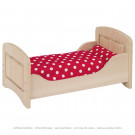 Goki Doll's Wooden Bed, 54cm