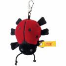 Steiff Keyring Ladybird, 7cm