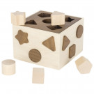 Goki Wooden Shape Sorter Nature