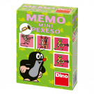 Dino Children Memory Mini Little Mole and friends green, 24 pieces