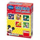 Dino Children Memory Mini Disney Mickey Mouse, 24 pieces