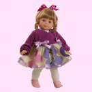Berjuan Soft Doll Blanca blonde, 48cm
