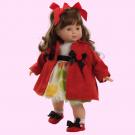 Berjuan Soft Doll Blanca brunette, 48cm