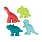 ECOIFFIER Sand Moulds Dinosaurs, 4 pieces