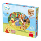 Dino Wooden Picture Blocks Disney's Pooh, 12 cubes