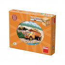 Dino Wooden Picture Blocks Tatra, 12 cubes